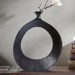 INK+IVY Hayes Peek Medium Round Vase
