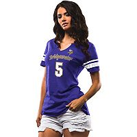 Women's Majestic Minnesota Vikings Teddy Bridgewater My Guy Tee