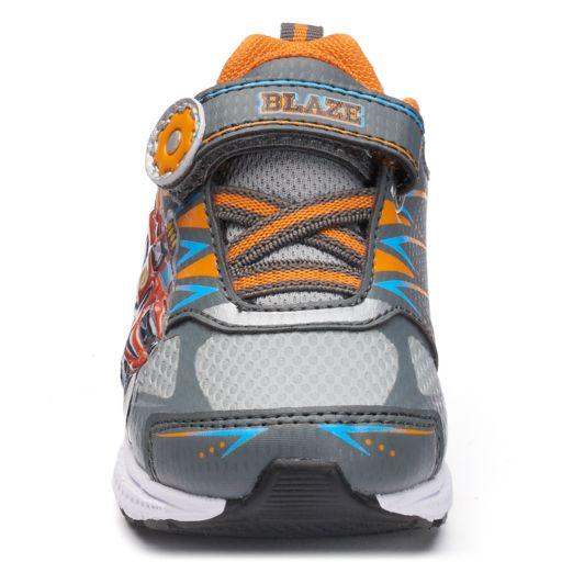 Blaze Monster Truck Toddler Boys' Light-Up Sneakers