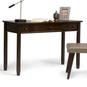 Simpli Home Warm Shaker 2-Drawer Desk