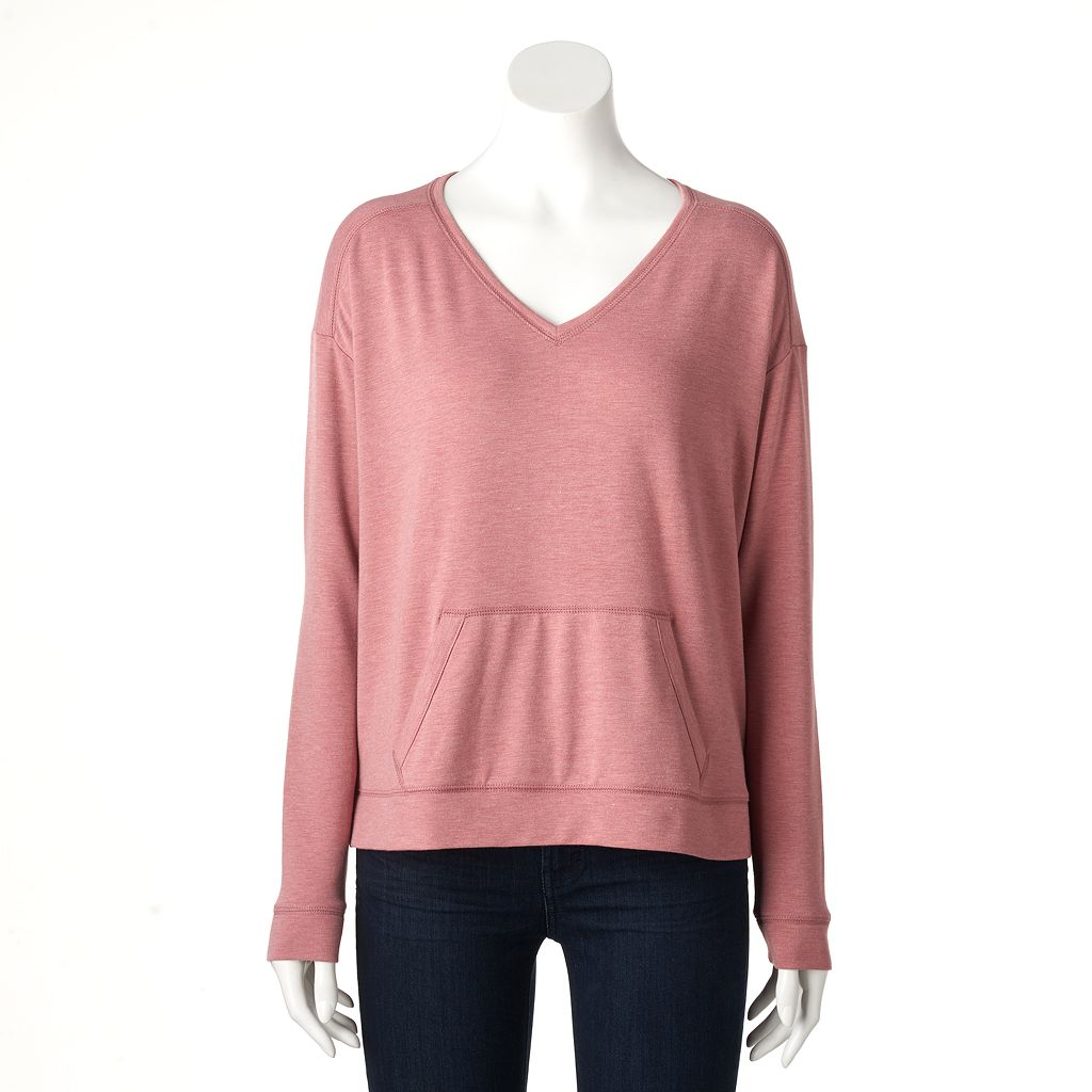 Women's SONOMA Goods for Life™ Drop-Shoulder Sweatshirt