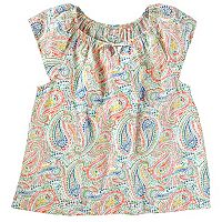 Girls 4-12 OshKosh B'gosh® Paisley Flutter Top