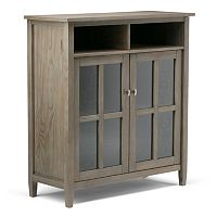 Simpli Home Warm Shaker Storage Cabinet