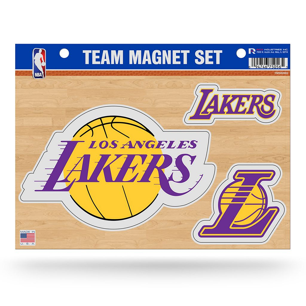 Los Angeles Lakers Team Magnet Set