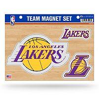Los Angeles Lakers Team Magnet Set