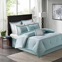 Madison Park 8 pc Carlton Comforter Set