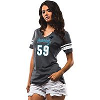 Women's Majestic Carolina Panthers Luke Kuechly My Guy Tee