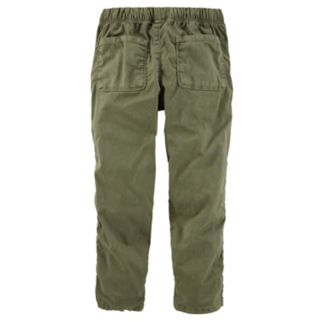 Girls 4-12 OshKosh B'gosh® Olive Pants