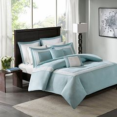 Madison Park 7-piece Carlton Duvet Cover Set