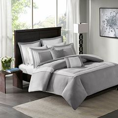 Madison Park 7 pc Carlton Duvet Cover Set