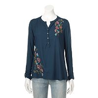 Women's SONOMA Goods for Life™ Embroidered Utility Shirt