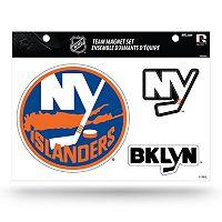 New York Islanders Team Magnet Set