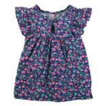 Girls 4-12 OshKosh B'gosh® Floral Keyhole Top