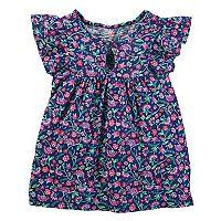 Girls 4-12 OshKosh B'gosh® Floral Keyhole Top