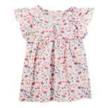 Girls 4-12 OshKosh B'gosh® Flutter-Sleeved Top
