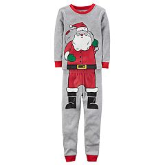 Baby Boy Carter's Santa Graphic Top & Bottoms Pajama Set