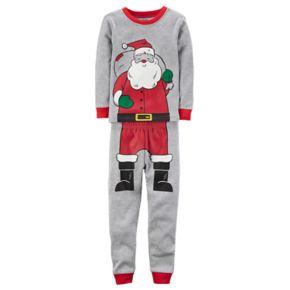 Baby Boy Carter's Santa Graphic Top & Bottoms Pajama Set