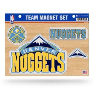 Denver Nuggets Team Magnet Set