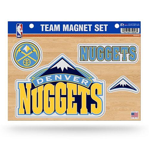 Denver Nuggets Team Store: Denver Nuggets Team Magnet Set