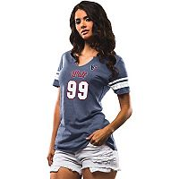 Women's Majestic Houston Texans J.J. Watt My Guy Tee