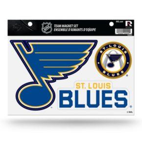 St. Louis Blues Team Magnet Set