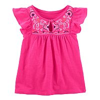 Girls 4-12 OshKosh B'gosh® Pink Embroidered Top