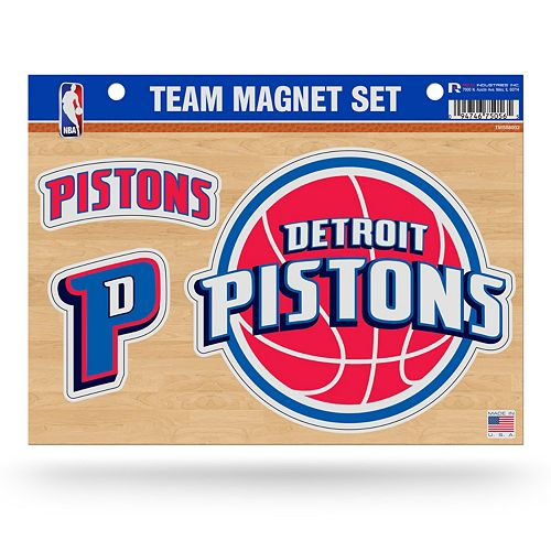 Detroit Pistons Team Magnet Set