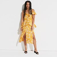 k/lab Floral Waterfall Ruffle Dress