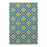 StyleHaven Corisco Geo Diamond Lattice Rug