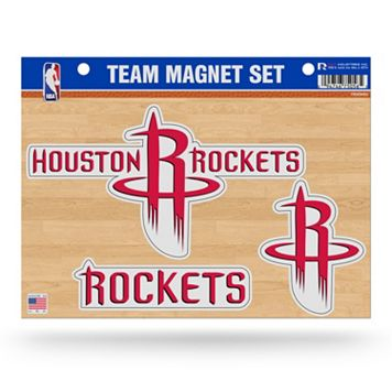 Houston Rockets Team Magnet Set