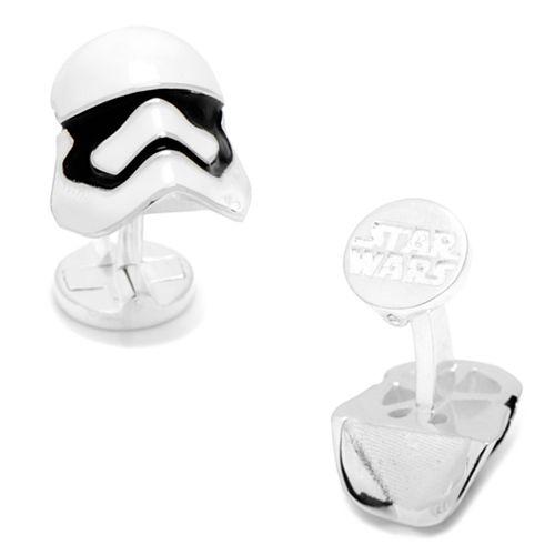 Star Wars 3D Stormtrooper Helmet Cuff Links