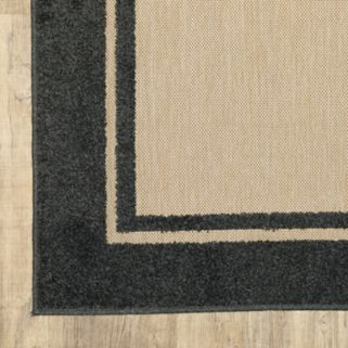 StyleHaven Corisco Simply Borders Rug