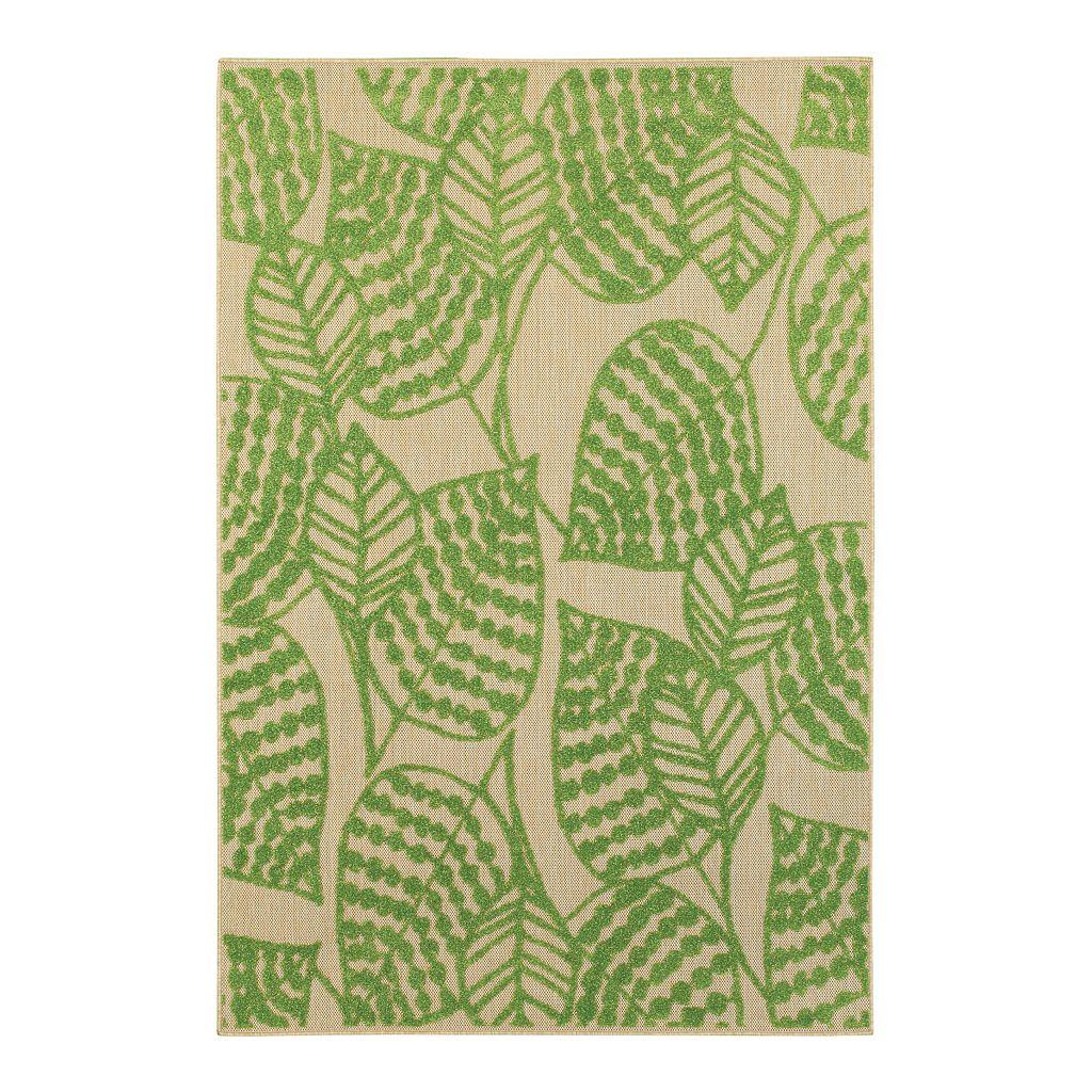 StyleHaven Corisco Botanical Leaves Rug