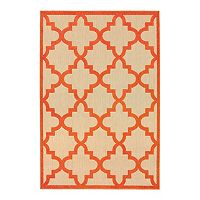 StyleHaven Corisco Quatrefoil Lattice Rug