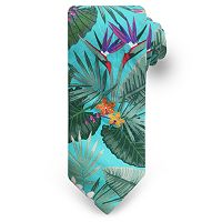 Men's Rooster Tropical Spaced Floral Tie