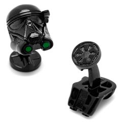 Star Wars: Rogue One 3D Death Trooper Helmet Cuff Links
