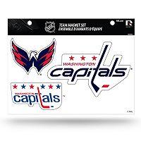 Washington Capitals Team Magnet Set