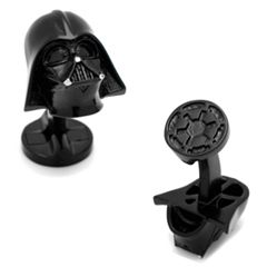 Star Wars 3D Darth Vader Cuff Links