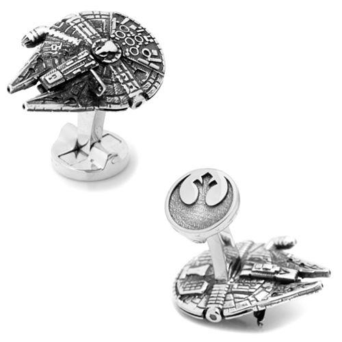 Star Wars 3D Millennium Falcon Cuff Links