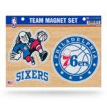 Philadelphia 76ers Team Magnet Set