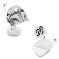Star Wars 3D Boba Fett Cuff Links