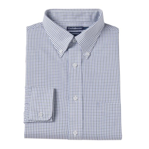 Big & Tall Croft & Barrow® Wrinkle-Resistant Easy Care Dress Shirt