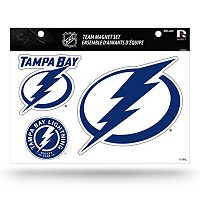 Tampa Bay Lightning Team Magnet Set