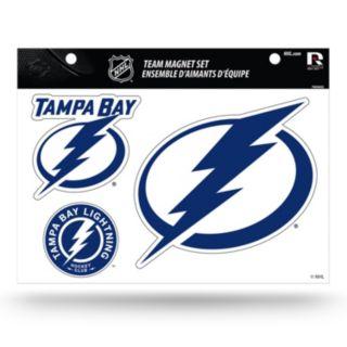 Tampa Bay Lightning Team Magnet Set