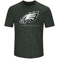 Men's Majestic Philadelphia Eagles Hyper Stack Tee