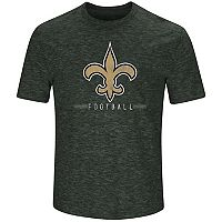 Men's Majestic New Orleans Saints Hyper Stack Tee