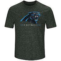 Men's Majestic Carolina Panthers Hyper Stack Tee