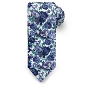 Men's Rooster Roses Tie