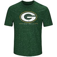 Men's Majestic Green Bay Packers Hyper Stack Tee