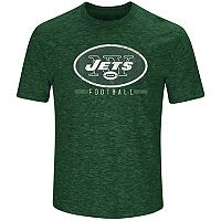 Men's Majestic New York Jets Hyper Stack Tee